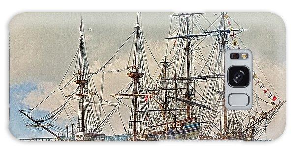 Replica Ships Mayflower And Hms Bounty Galaxy Case
