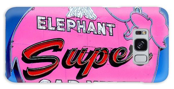 Elephant Super Car Wash Sign Seattle Washington Galaxy Case