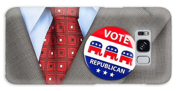 Republican Vote Badge Galaxy Case
