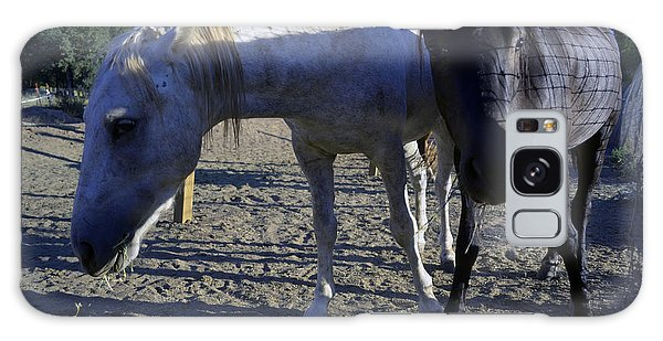 Rescued Mustangs Galaxy Case