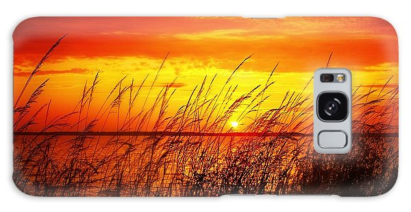 Reservoir Sunset 3 Galaxy Case