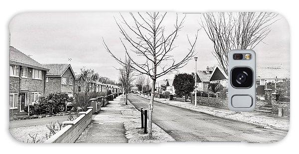 Bury St Edmunds Galaxy Case - Residential Street by Tom Gowanlock