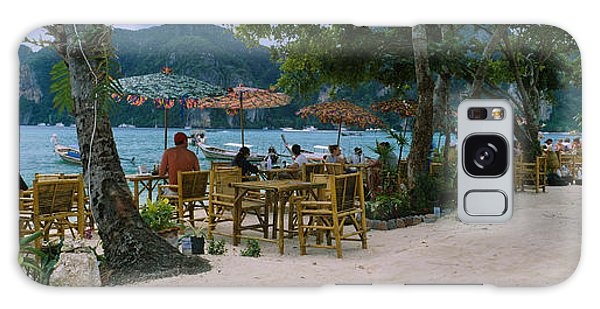 Phi Phi Island Galaxy Case - Restaurant On The Beach, Ko Phi Phi by Panoramic Images