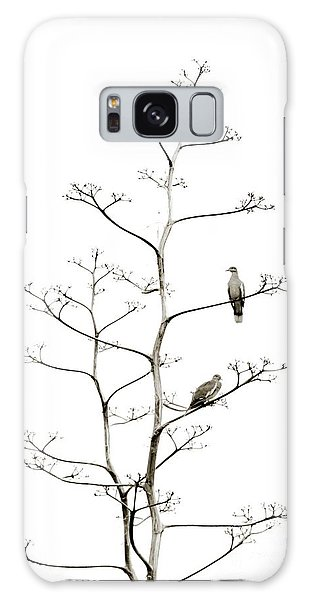 Resting Doves Galaxy Case by Darla Wood