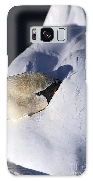 Resting Mute Swan Galaxy Case