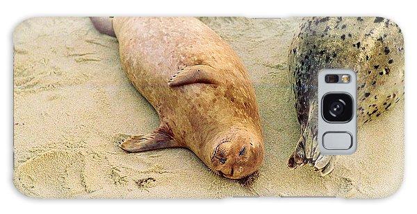 Resting Seal Galaxy Case by Kathy Bassett