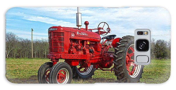 Restored Farmall Tractor Galaxy Case by Charles Beeler