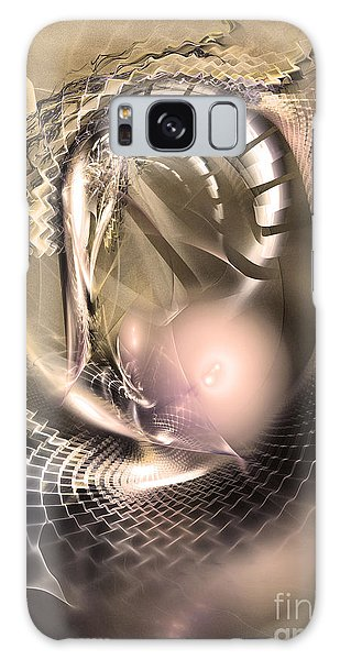 Rete Temporis - Abstract Art Galaxy Case