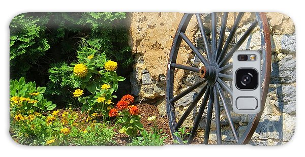 Retired Wagon Wheel Galaxy Case by Jeanette Oberholtzer