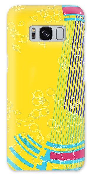 Cd Galaxy Case - Retro Background by Irmak Akcadogan
