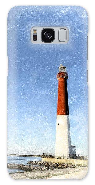 Retro Barnegat Lighthouse Barnegat Light New Jersey Galaxy Case