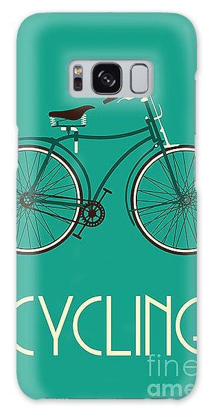 Speed Galaxy Case - Retro Bike Poster by Negovura