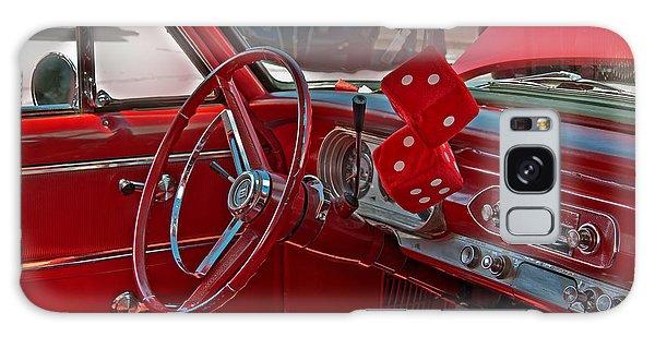 Retro Chevy Car Interior Art Prints Galaxy Case