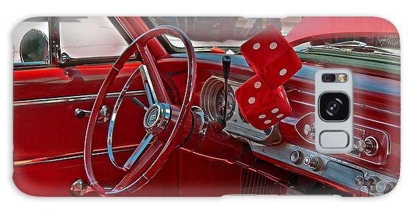 Retro Chevy Car Interior Art Prints Galaxy Case by Valerie Garner