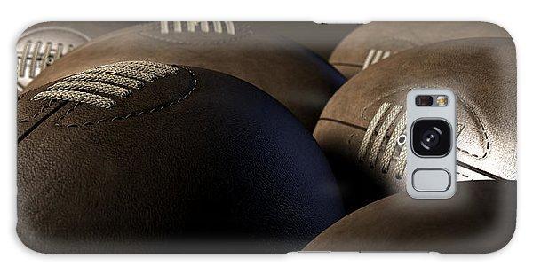 Front Galaxy Case - Retro Football Collection  by Allan Swart