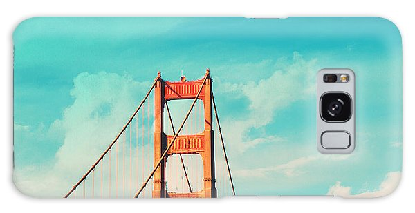 Retro Golden Gate - San Francisco Galaxy Case