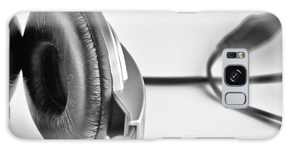 Retro Headphones Galaxy Case