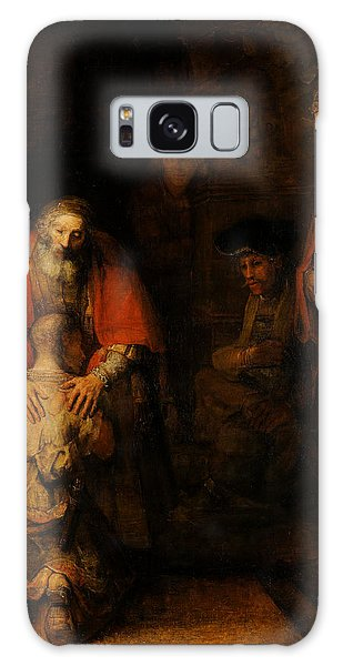 Return Of The Prodigal Son  Galaxy Case by Rembrandt van Rijn