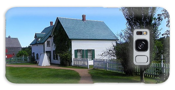 Returning To Green Gables Galaxy Case