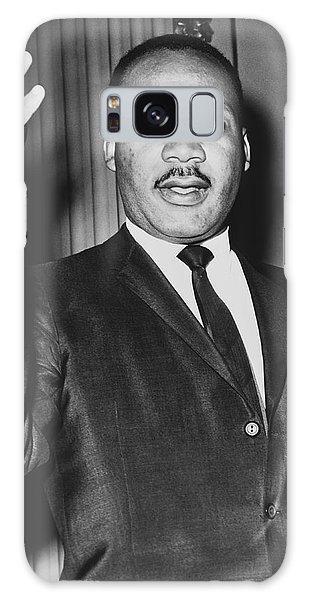 Martin Luther Galaxy Case - Rev. Martin Luther King by Dick DeMarsico