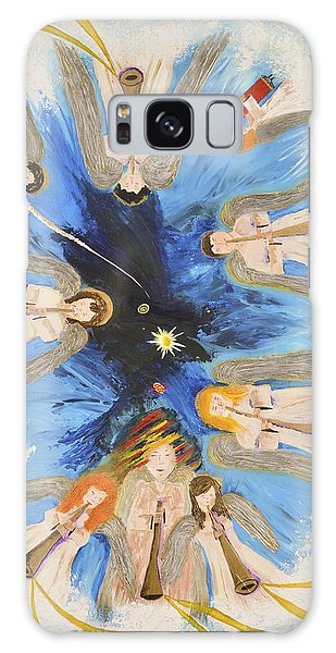 Revelation 8-11 Galaxy Case by Cassie Sears