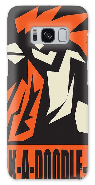 Revolutionary Rooster Galaxy Case