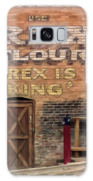 Rex Is King Galaxy Case by Michael Pickett