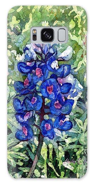 Pasture Galaxy Case - Rhapsody In Blue by Hailey E Herrera