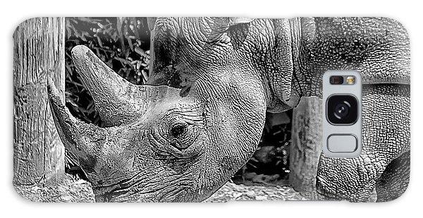 Rhino Portrait Galaxy Case