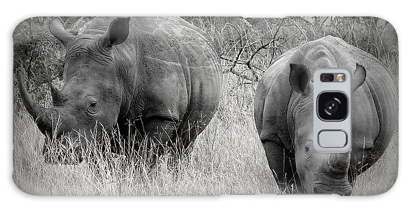 Rhinos Galaxy Case by Ramona Johnston