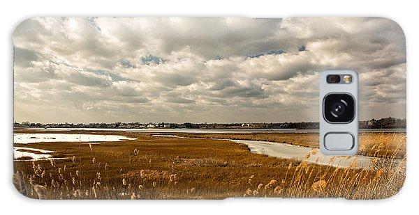Rhode Island Marshes 1 Galaxy Case by Nancy De Flon