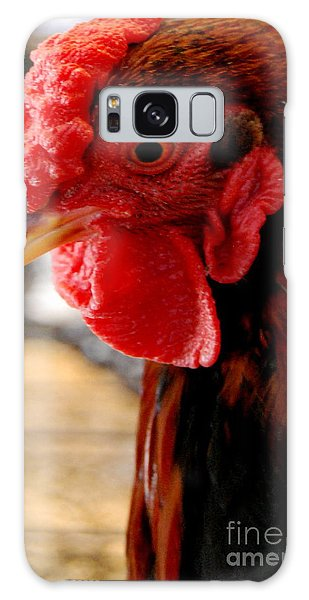 Rhode Island Red Galaxy Case by Eunice Miller