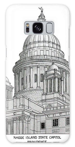 Rhode Island State Capitol Galaxy Case