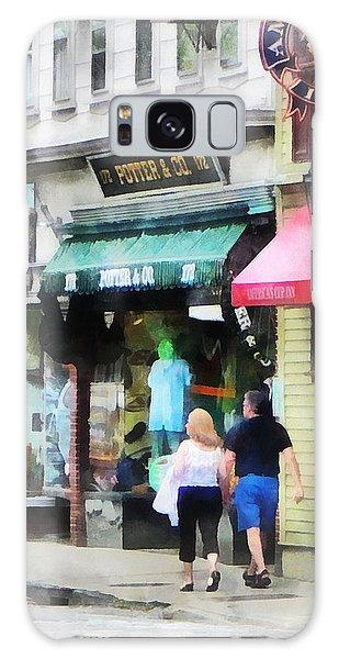 Rhode Island - Thames Street Newport Ri Galaxy Case
