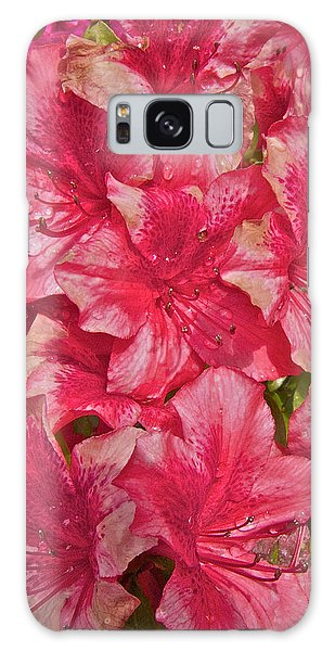 Rhododendron Closeup Galaxy Case