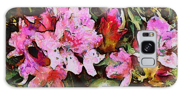 Rhododendrons One Galaxy Case by Spyder Webb