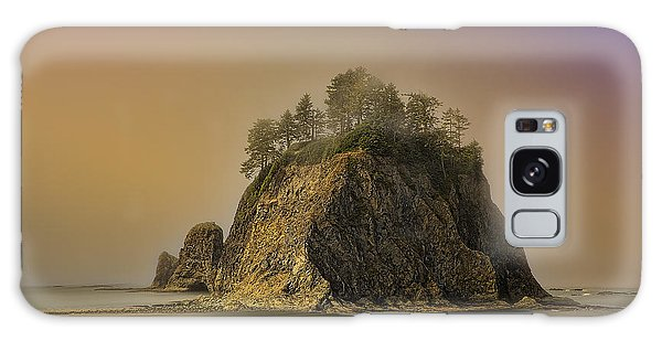 Rialto Beach - Little James Island Galaxy Case