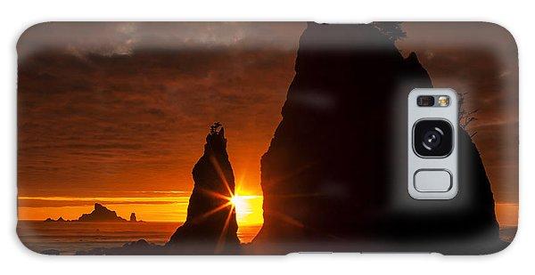 Rialto Beach Sunset Percusion Galaxy Case by Mark Kiver