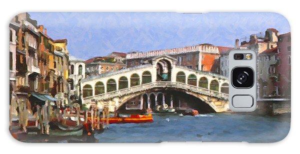Rialto Bridge Venice Galaxy Case by Spyder Webb