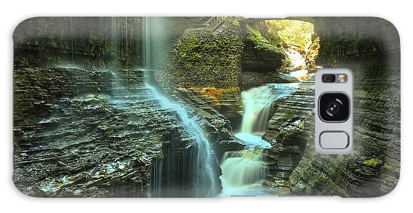 Rainbow Falls Watkins Glen Galaxy Case