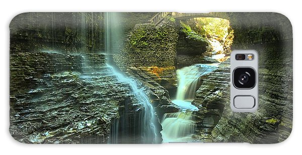 Rainbow Falls Watkins Glen Galaxy Case by Adam Jewell