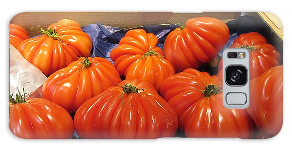 Ribbed Tomatoes Galaxy Case