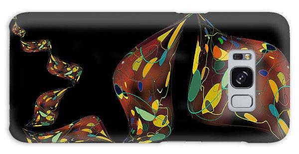 Ribbon Bubbles Galaxy Case by Constance Krejci