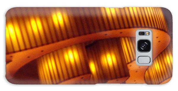 Glowing Ribbon Galaxy Case by Lyric Lucas
