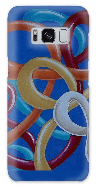 Ribbons In The Sky Galaxy Case