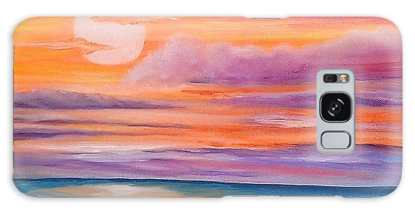 Ribbons In The Sky Galaxy Case by Holly Martinson