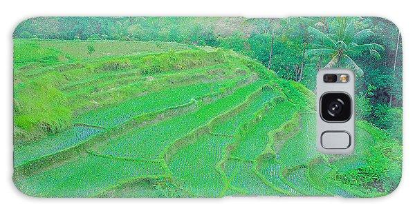 Rice Fields In Indonesia Galaxy Case