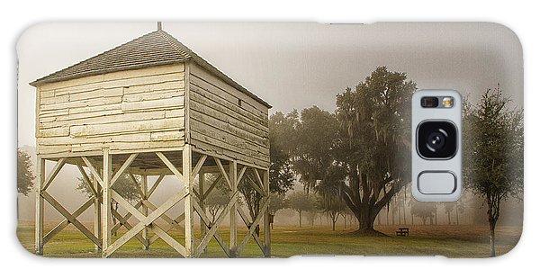 Rice Winnowing Barn Galaxy Case by Sandra Anderson