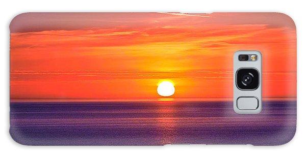 Rich Sunset Galaxy Case