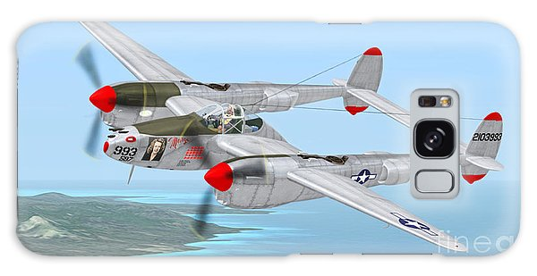 Richard Bong's P-38 Lightning Marge Galaxy Case